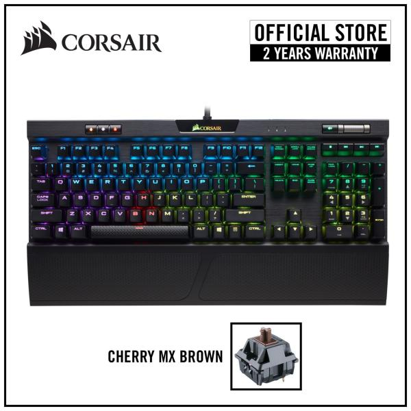 CORSAIR K70 RGB MK.2 RGB Mechanical Gaming Keyboard (Switch: Cherry MX Red / MX Brown / MX Blue / MX Speed ) Singapore