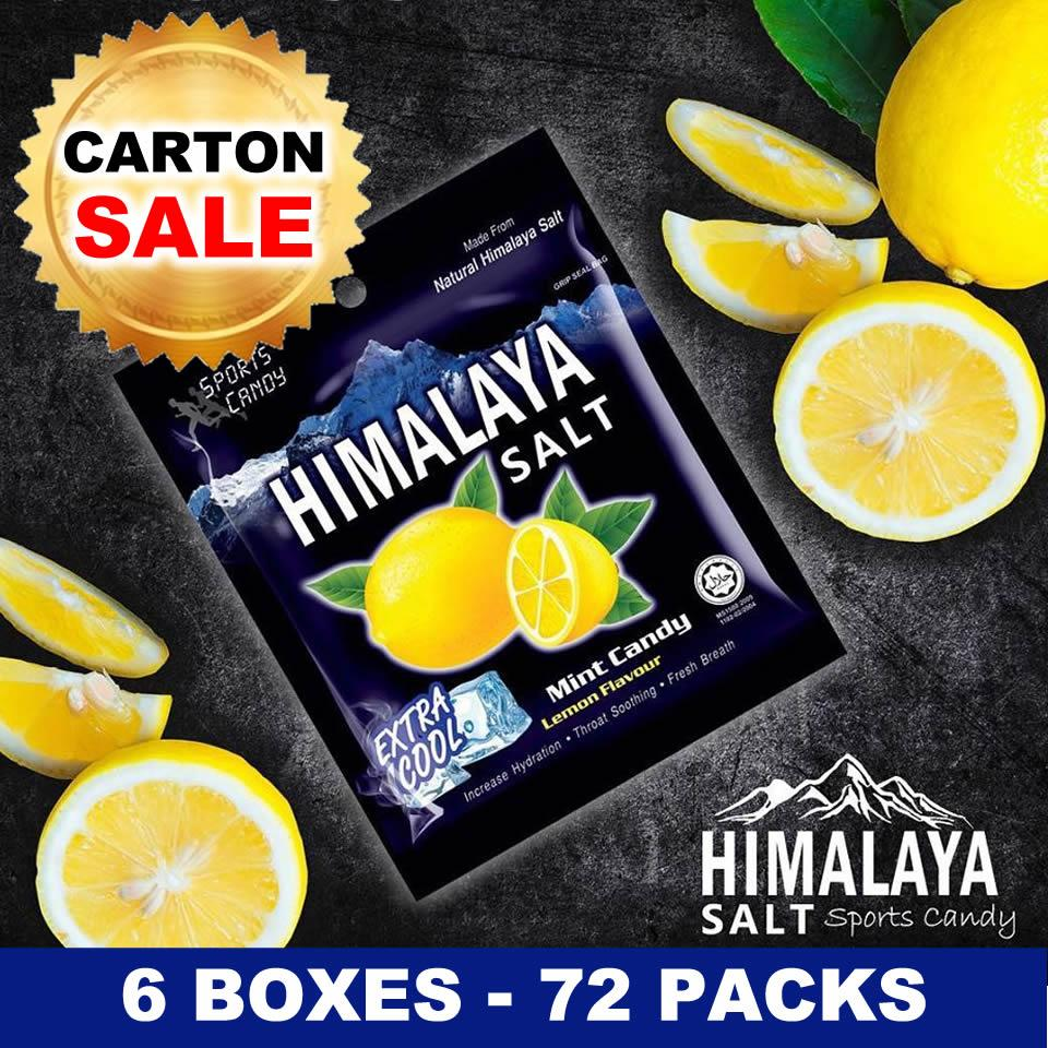 (wholesale) (6 Boxes X 12 Packs) Himalaya Salt Candy (sg Stock) (exp: 2021) By Rareus Singapore.