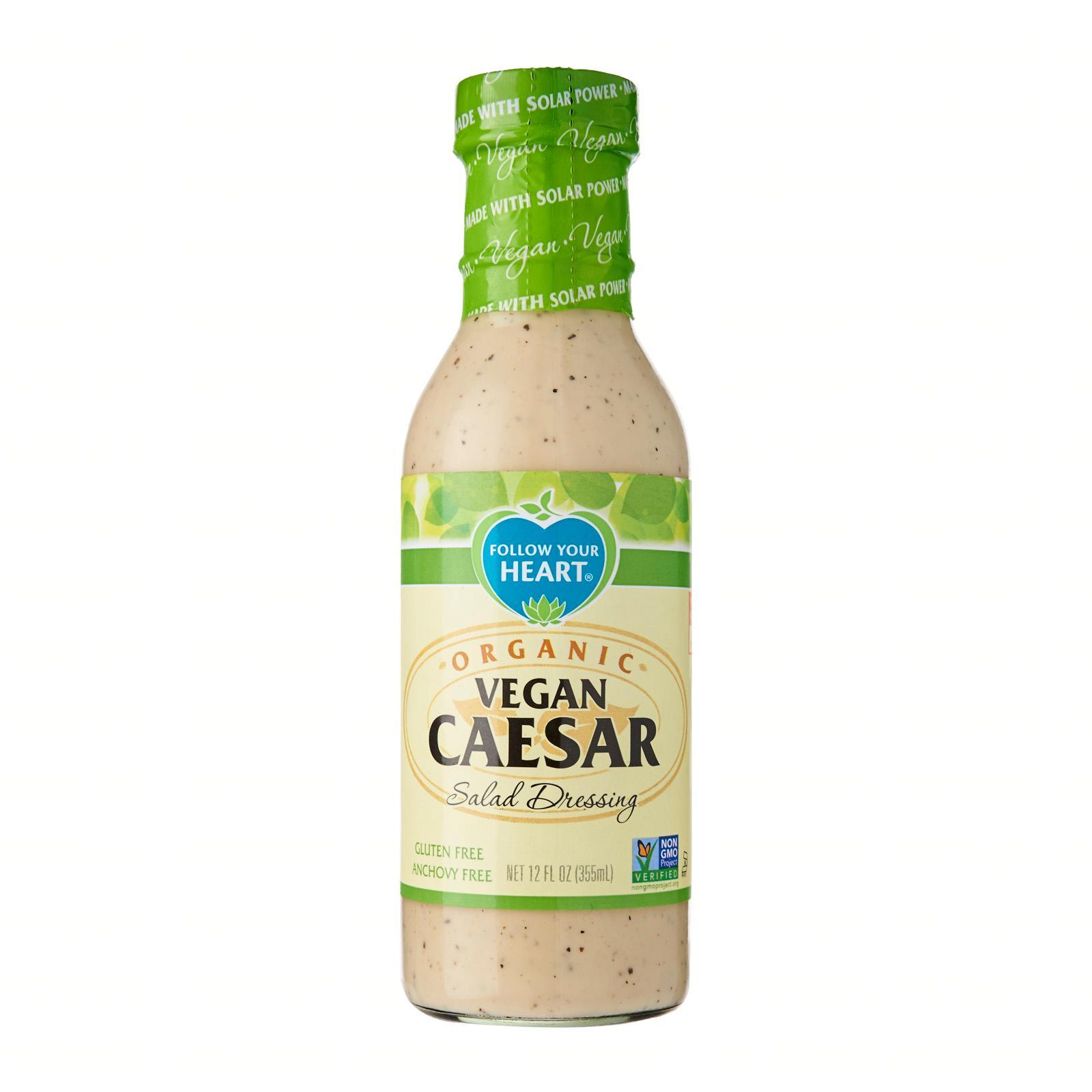 Follow Your Heart Organic Vegan Caesar Dressing Salad Dressing