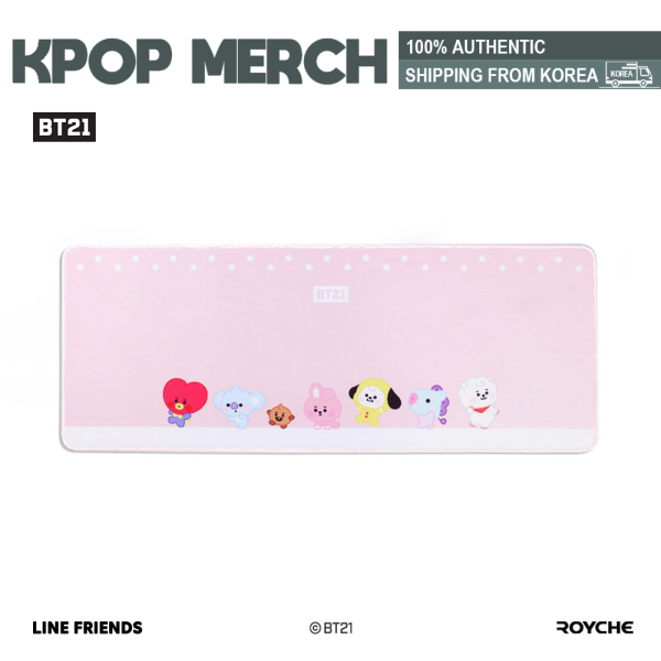♥ON STOCK♥ BT21 Official Baby Long Desk Pad by Royche