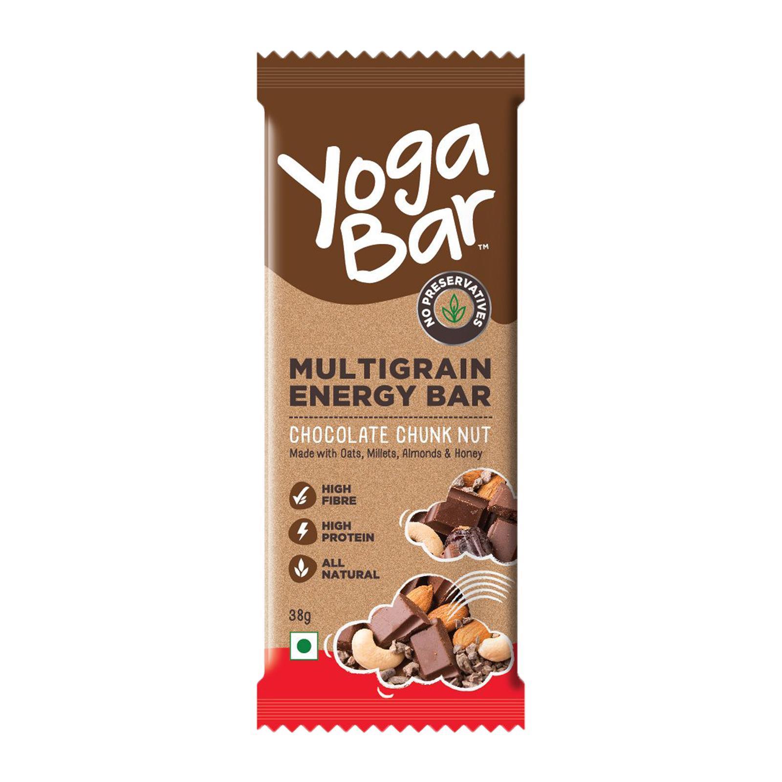 Yoga Bar Multigrain Energy Bar Chocolate Chunk Nut - By Sonnamera