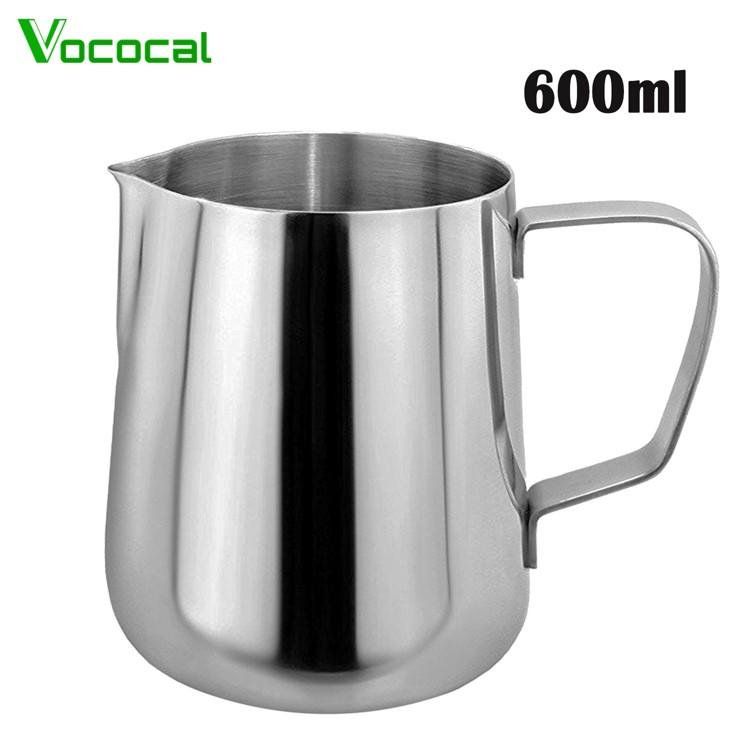 Vococal 600ml Thicken Stainless Steel Coffee Latte Milk Frothing Cup Pitcher Jug With Handle - Intl By Vococal Shop.