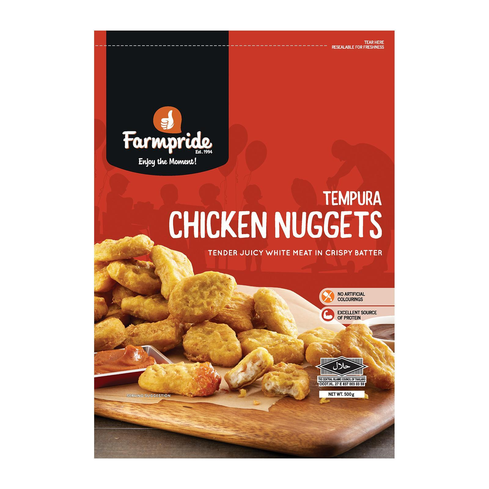 Farmpride Chicken Nuggets - Frozen