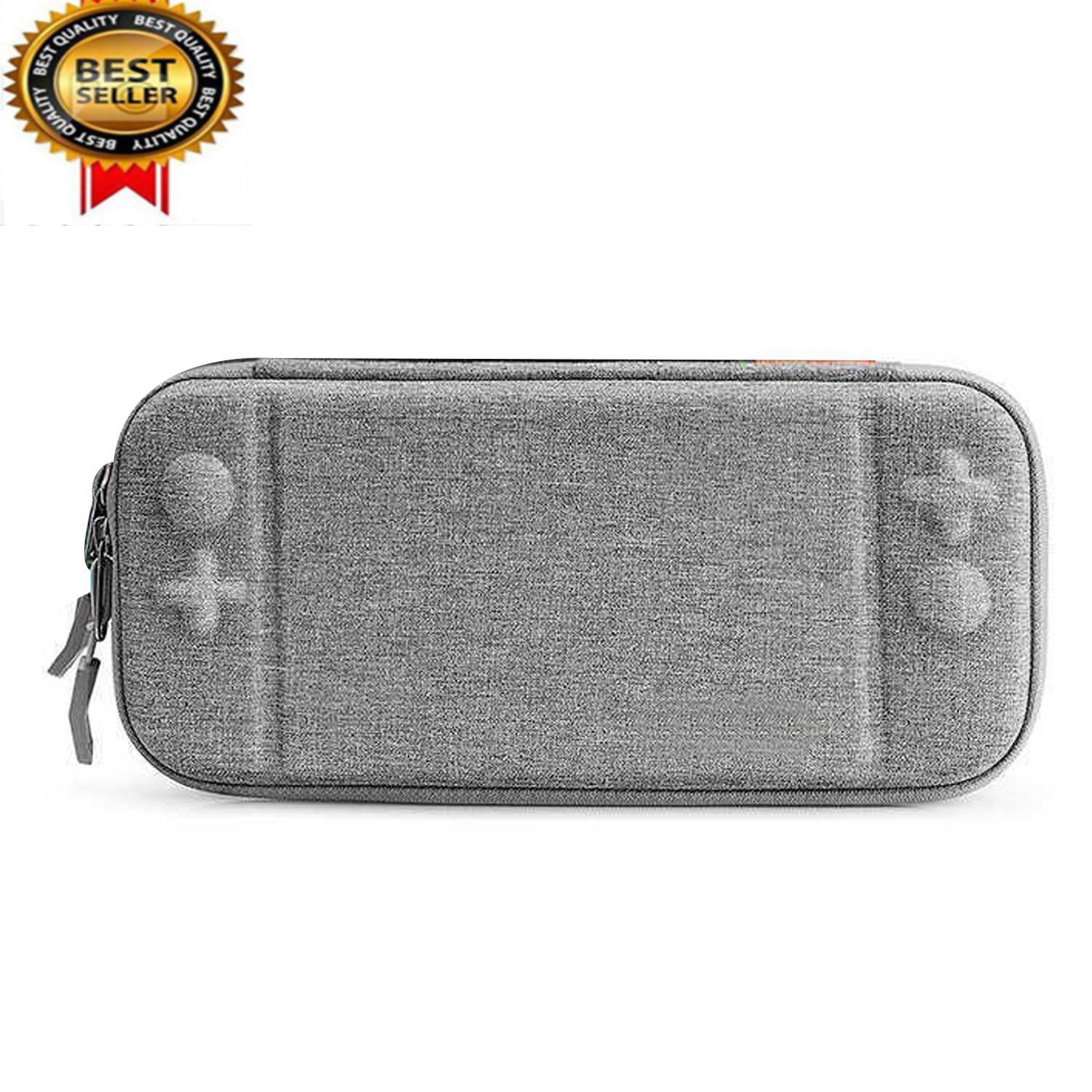 Portable Travel Protective Case Eva Hard Shell Storage Carrying Pouch Bag Compatible With Nintendo Switch Console By Stoneky.