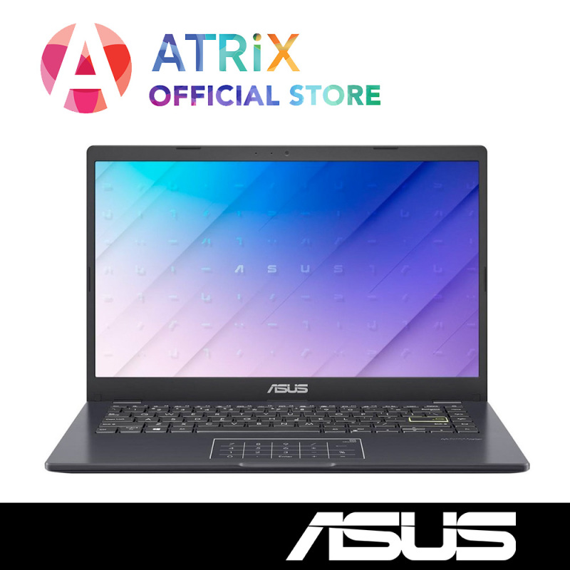 【Same Day Delivery】New Asus E410MA-EK087T 1.3Kg〖Free Office 2019〗14inch FHD | Pentium N5030 | 4GB RAM | 512GB SSD | Win10 Home | 1Year ASUS Warranty