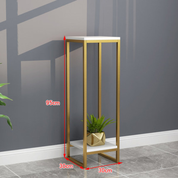 Nordic flower plant stand iron living room indoor floor flower pot stand home decoration rack green hanging hanging orchid shelf
