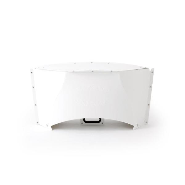 Solcion Patatto Table - portable compact table (White)