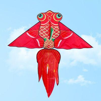 New Style Ancient Costume Photography Photo Taking Kite Cool Goldfish Kite Chinese-style Vintage Background Pendant Decoration Props