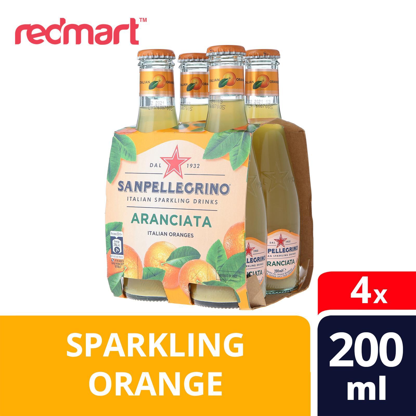 San Pellegrino Organic Aranciata Sparkling Water