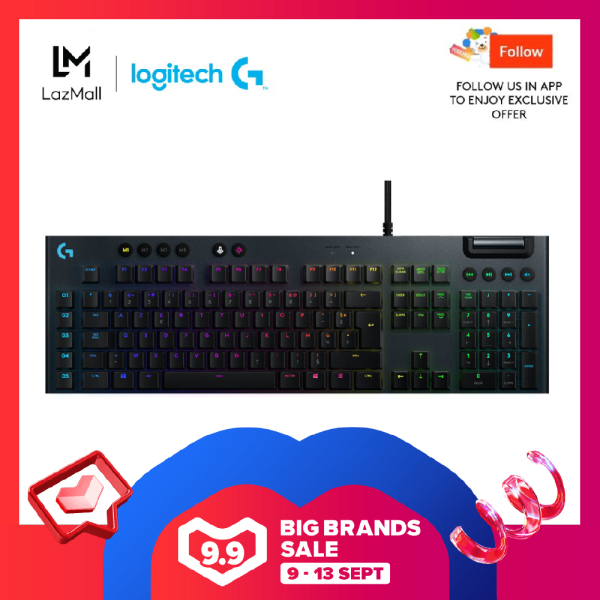 Logitech G815 Lightsync Wired RGB Mechanical Gaming Keyboard Singapore