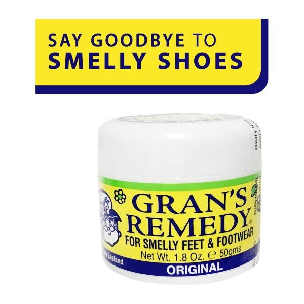 Buy Grans Remedy For Smelly Feet and Footwear Shoe Powder Original - by Optimo Foods Singapore