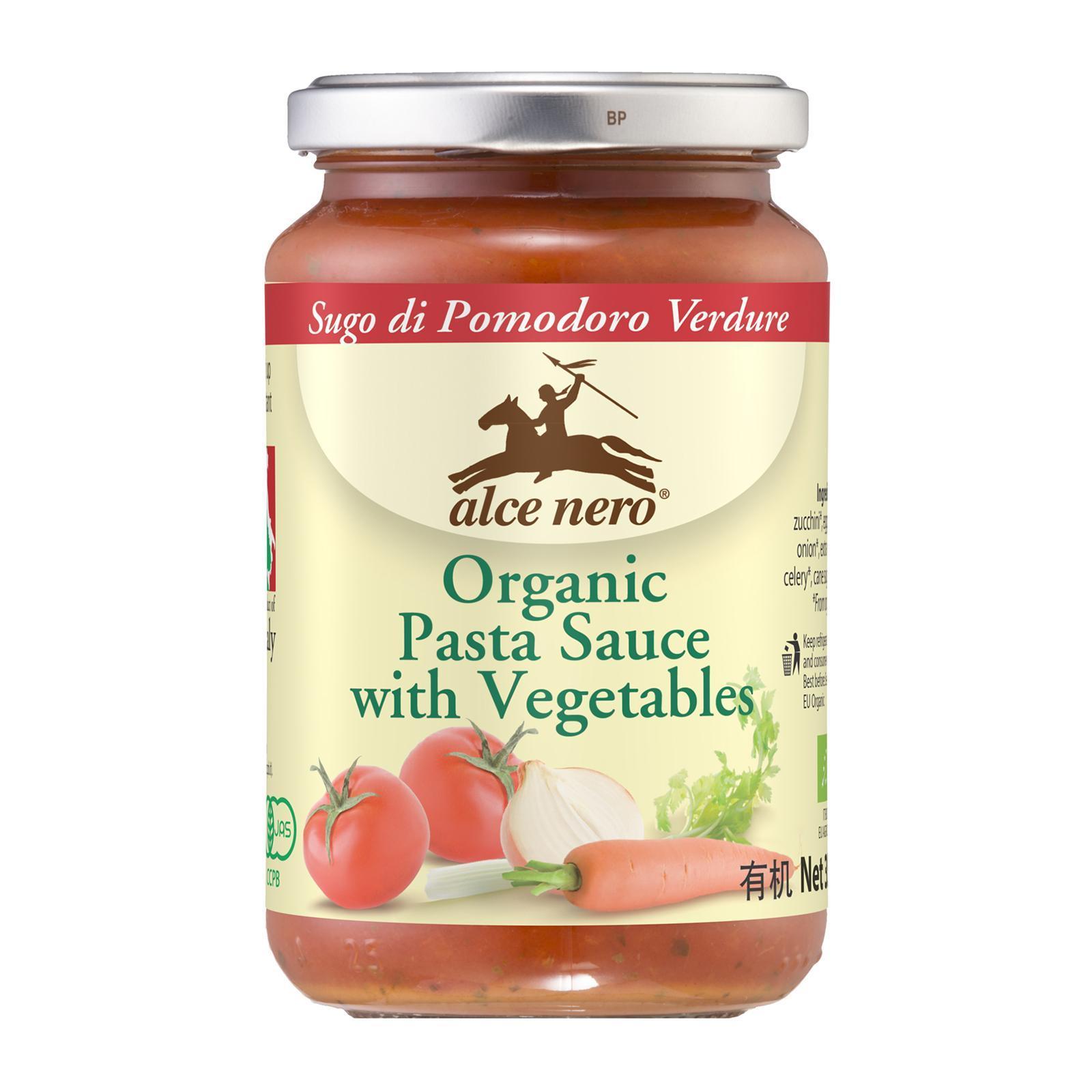 ALCE NERO Pasta Sauce Organic - Vegetables 350g