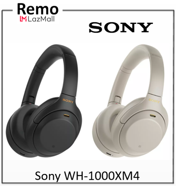 Sony WH-1000XM4 Bluetooth Over-Ear Noise Cancelling Headphones Singapore