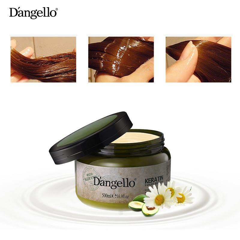 Dangello Keratin Hair Treatment Mask (500ml) By E-Essential Sg.