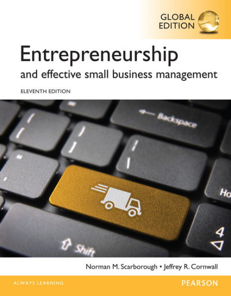 Entrepreneurship and Effective Small Business Management, Global Edition   Edition 11   9781292061177   Paperback