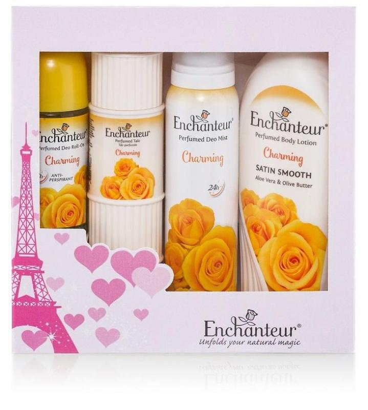 Buy Enchanteur Charming French Fragrance Beauty Holiday Gift Set Singapore