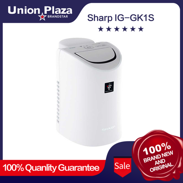 sharp - IG-GK1S Moisture Ionizer (White) Sharp ion generator White IG-GK1S-W personal moisturizing plasma cluster 25000 Singapore