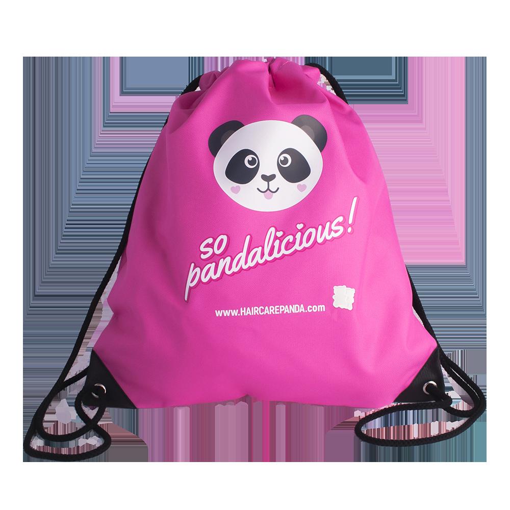 Hair Care Panda Wanderlust Bag Travel Bag Cute Pink Backpack