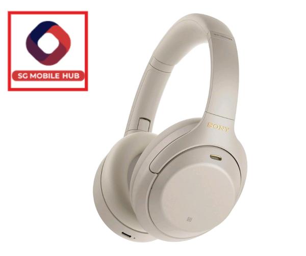 Sony WH-1000XM4 Wireless Noise-Canceling Headphones Platinum Silver Singapore