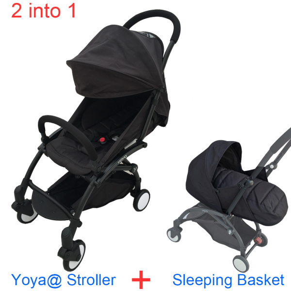 2 into 1 Baby Throne YOYA 2020 Fold Baby Stroller and Sleeping Basket Lightweight Pram Carriage Baby Newborn Nest Singapore