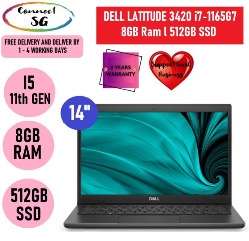 Dell Latitude 3420 Laptop l Intel Core i7-1165G7 l 8GB Ram l 512GB SSD l Windows 10 Pro l Dell Latitude l Dell Latitude Laptop l Dell 14 inch Laptop l Dell Laptop i7 l Dell Laptop Windows 10 l Dell Laptop New l Dell Laptops i7 l 5190993
