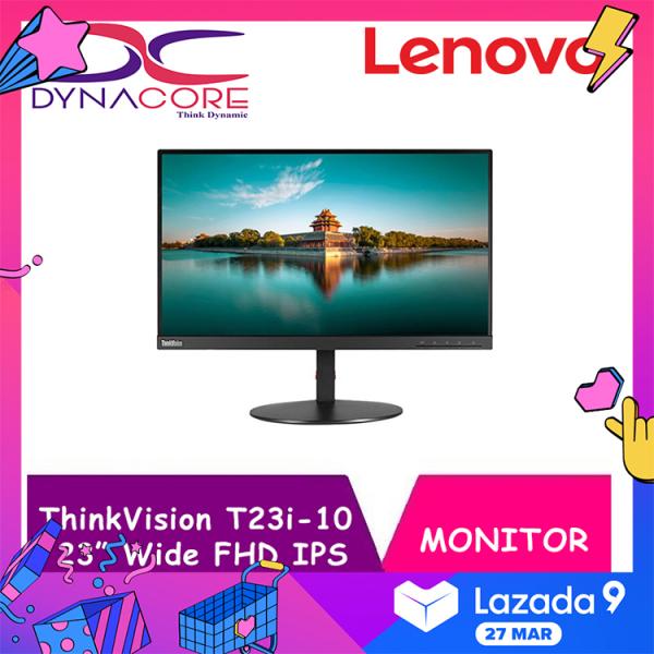"DYNACORE - LENOVO ThinkVision T23i-10 23"" Wide FHD IPS MONITOR"