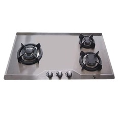 Store Ef 3 Burners Cast Iron Stainless Steel Gas Hob Grey Efh3970Tnvsb Ef On Singapore