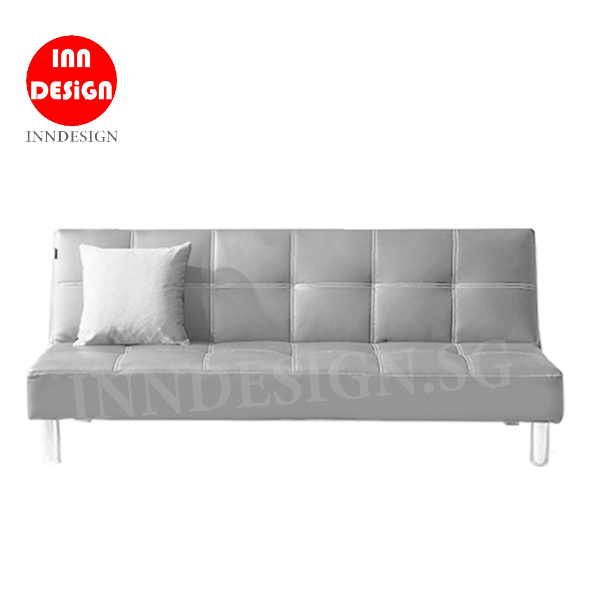 Elvi PVC Sofa Bed / 3 Seaters Sofa (Free Delivery and Installation)