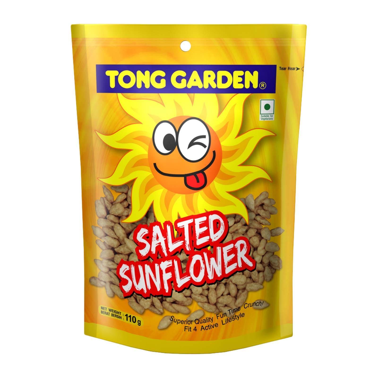 T/Garden Salted Sunflower Seeds 110G