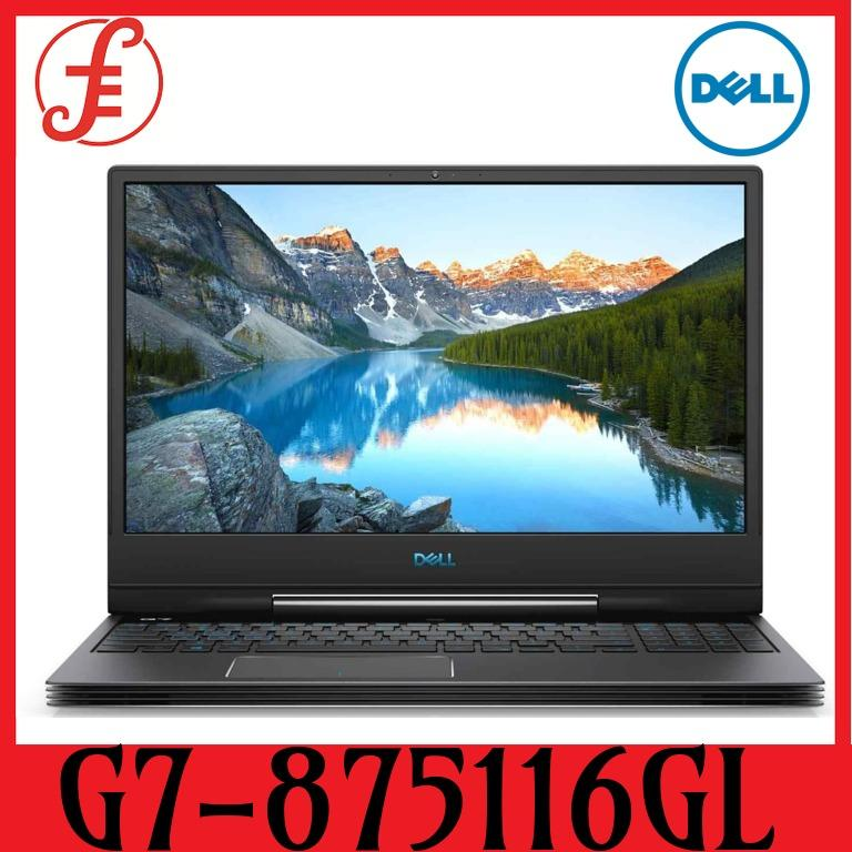 DELL G7-875116GL RTX2060 15.6 IN INTEL CORE I7-8750H 16GB 1TB+256GB SSD WIN 10 (G7-875116GL)