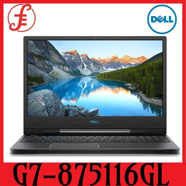 DELL G7-875116GL RTX2060 15.6 IN INTEL CORE I7-8750H 16GB 1TB+256GB SSD WIN 10 (G7-875116GL)