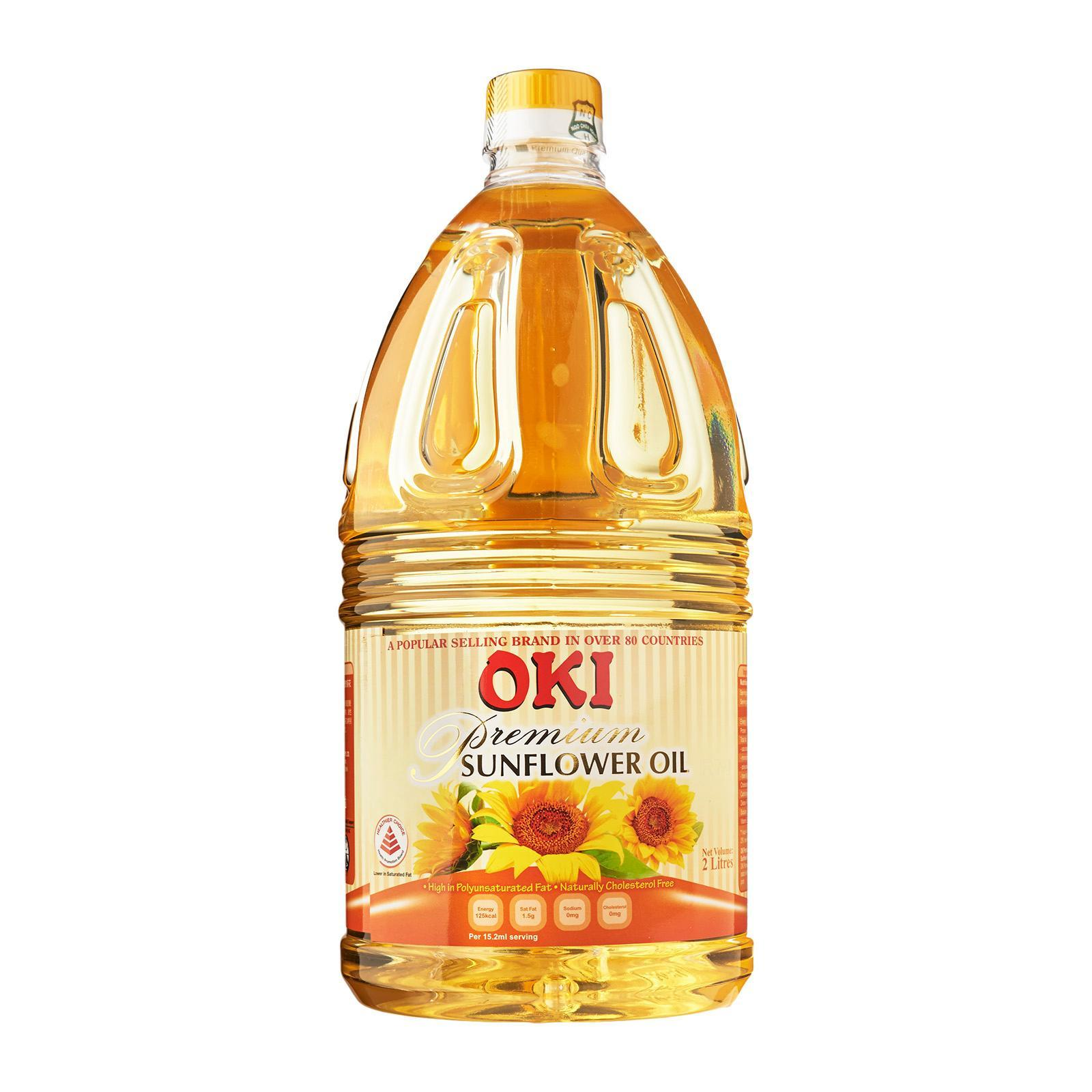 Oki Premium Sunflower Oil 2L