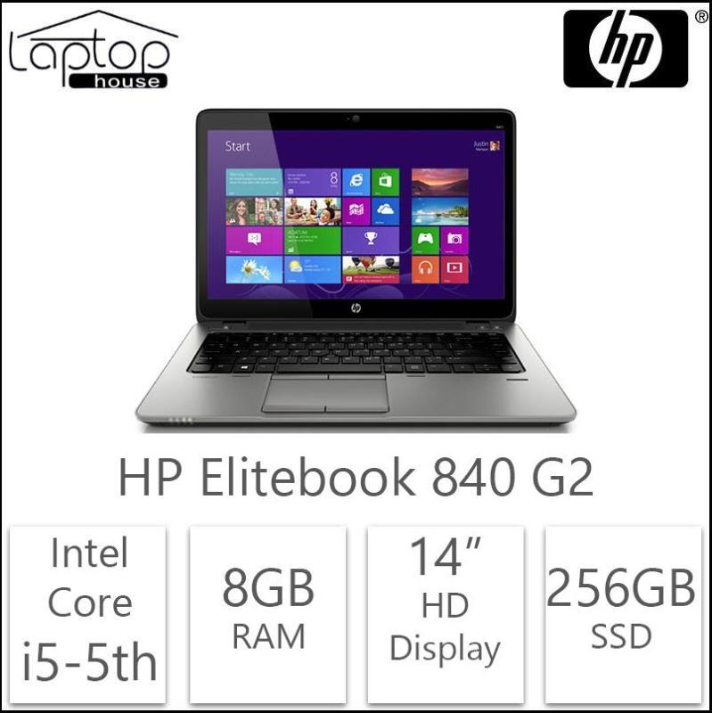 HP EliteBook 840 G2 (Intel Core i5-5300/256GB SSD/8GB RAM) Refurbished