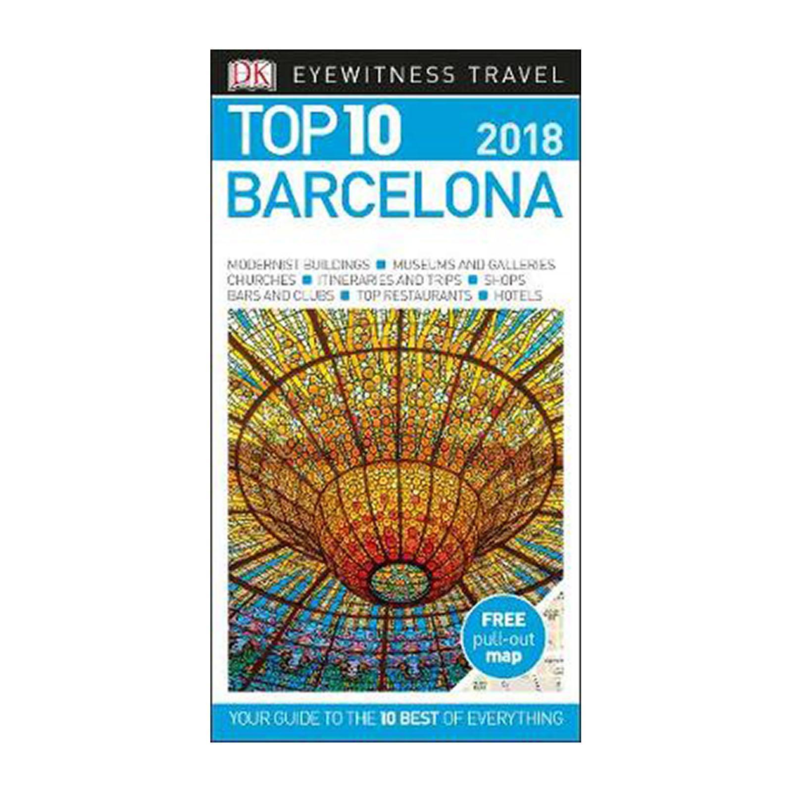 Top 10 Barcelona: 2018 (Paperback)