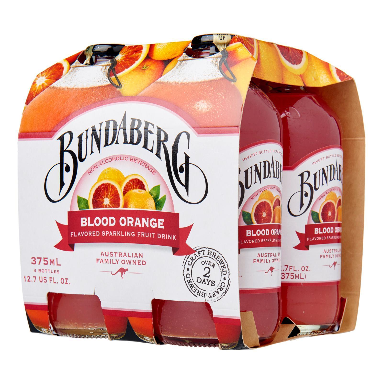 BUNDABERG Blood Orange 4sX375ml