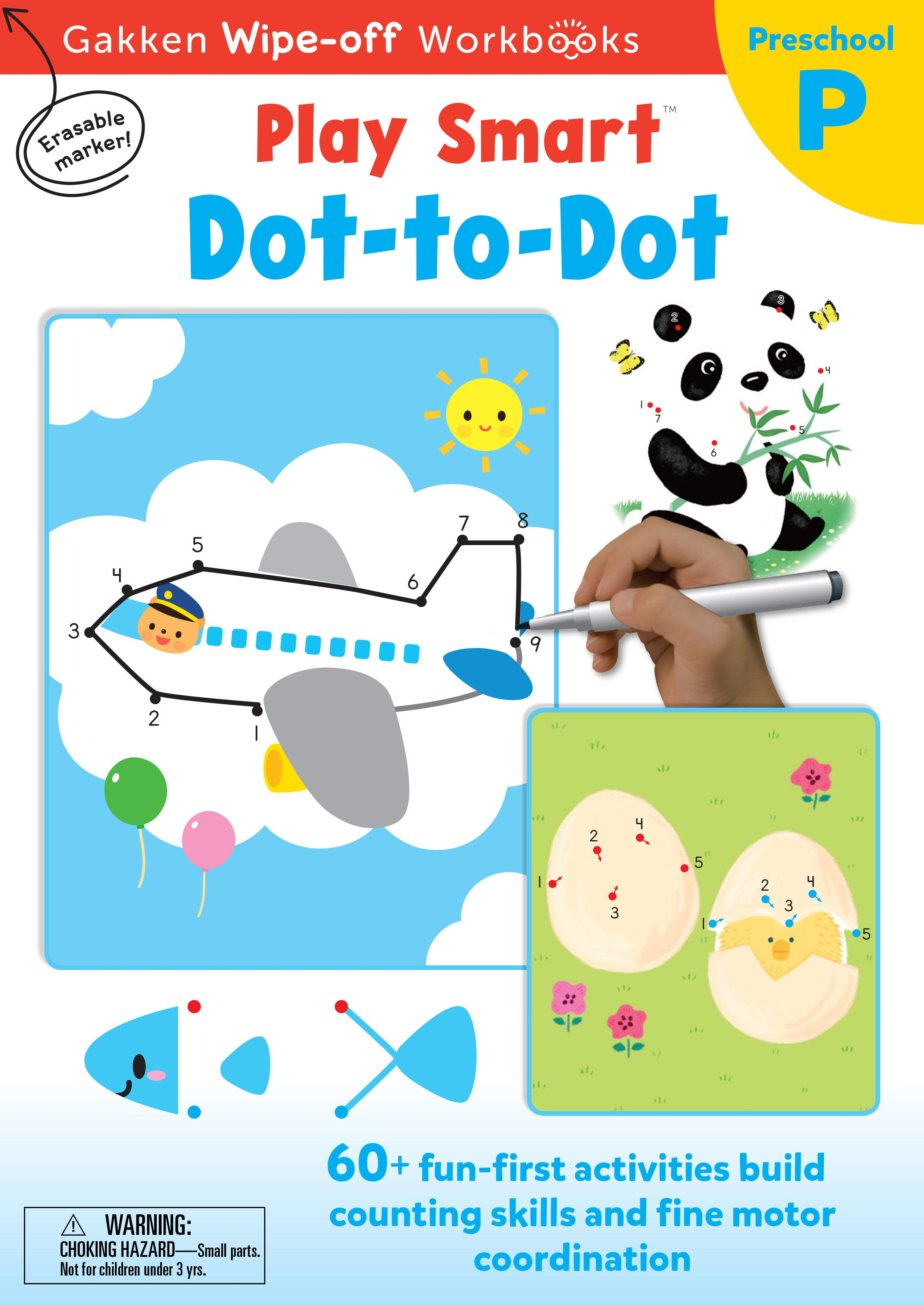 PlaySmart :  Wipe&Off Dot-to-Dot