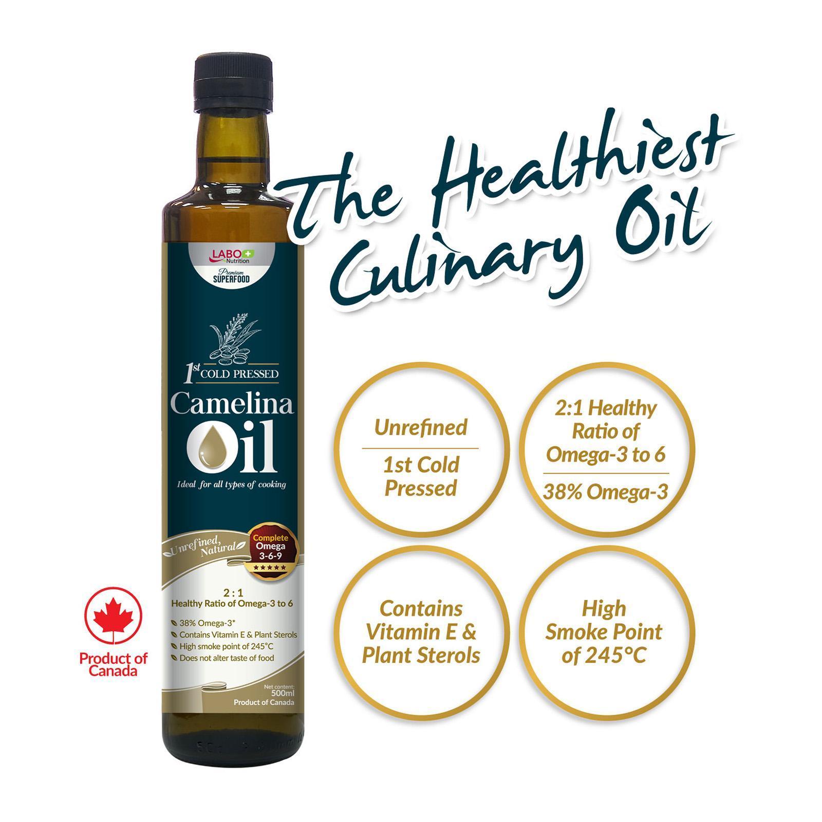 Labo Nutrition Camelina Oil By Redmart.