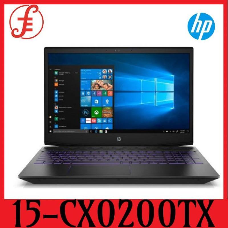 HP 15-CX0200TX Gaming Pavilion 15-cx0200tx / i7-8750H / Windows 10 Home 64 / 15.6inch / 8GB RAM / 1TBHDD+256GB SSD /NVIDIA® GeForce® GTX 1050 (4GB) (15-CX0200TX)