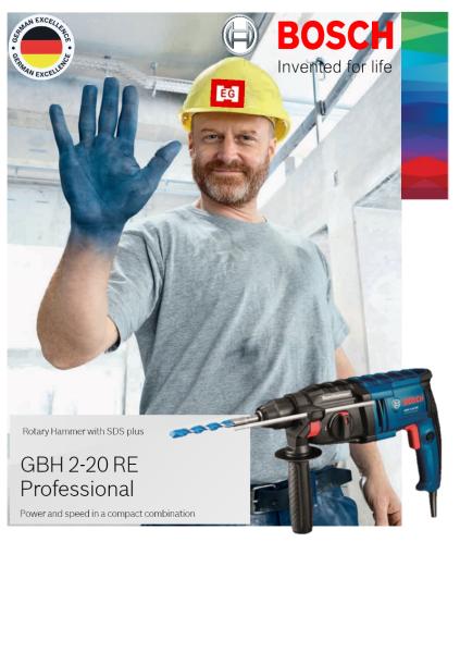 Bosch GBH 2-20RE