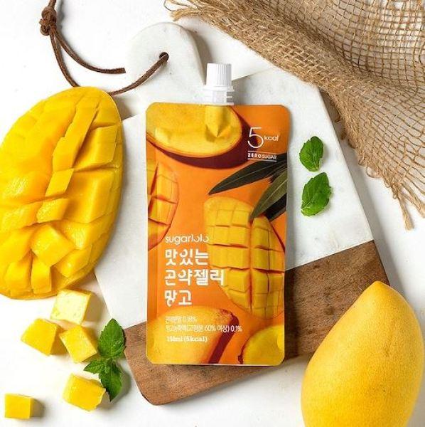 Buy Sugarlolo Konjac Mango Jelly - 10 packs X 150ml (Diet / Zero Sugar / Low Calorie / Kfood) - Expiry Date Dec 2021 Singapore