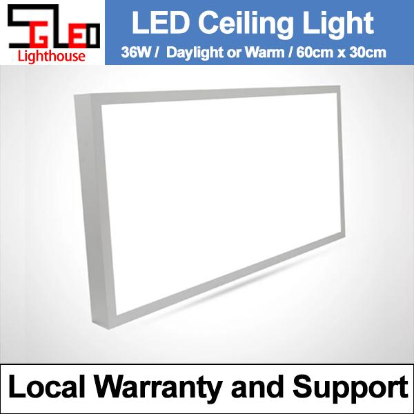 36W Rectangular LED Ceiling Panel Light
