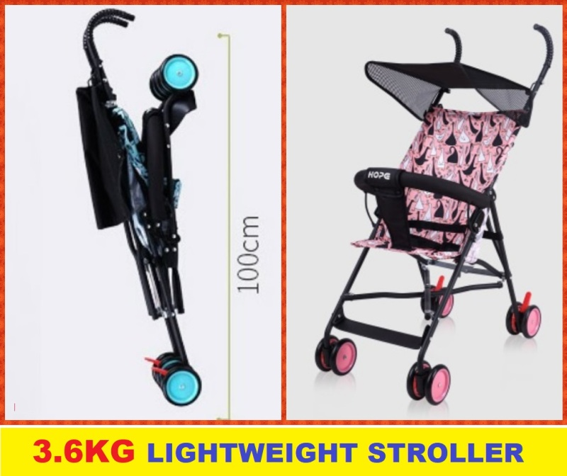 stroller hope light weight simple version pram kids children Singapore