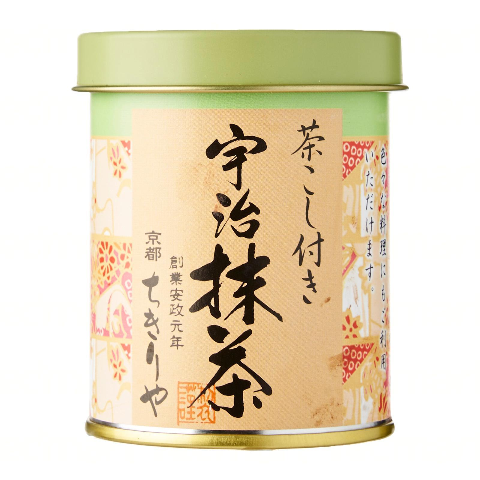 Chikiriya Chakoshi-Tsuki Uji Matcha Powder (Special Powder Sprinkle Bottle) - Kirei