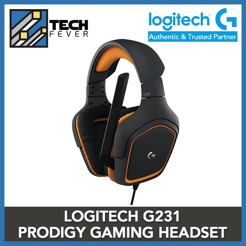 0dfb8e1f781 Logitech G231 Prodigy Gaming Headset – Game-Quality Stereo Sound –  Playstion 4, Xbox