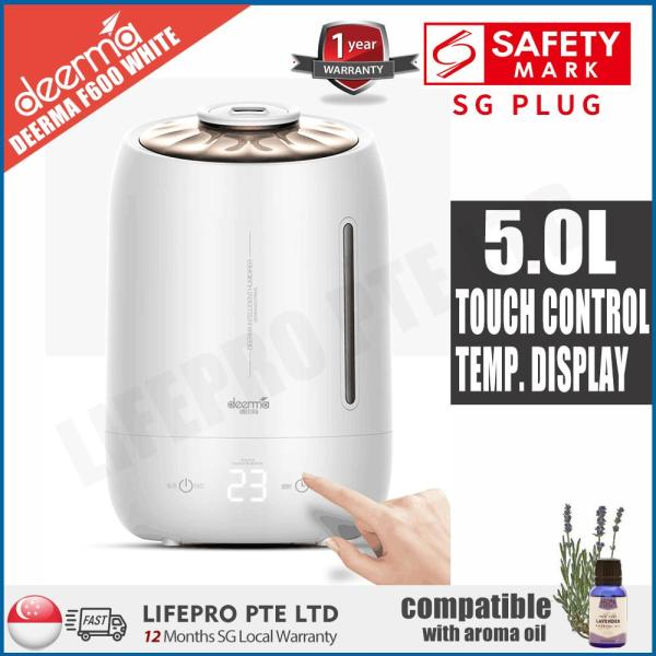 LifePro DEM-F600 ULTRASONIC AIR HUMIDIFIER/5L LARGE CAPACITY/AROMA DIFFUSER/SG Plug/ 12 Months SG Warranty Singapore