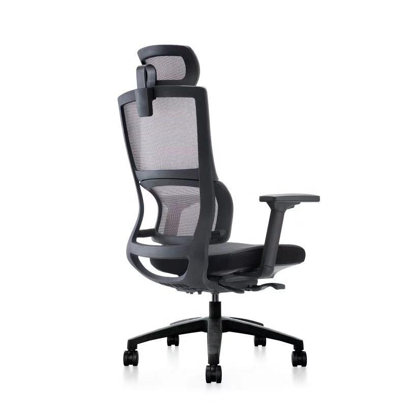 Computer Chair -Intelligent Lumbar Support + Extendable Seat+ 4D Arm Rest+ Styling sponge - Best Selling Singapore