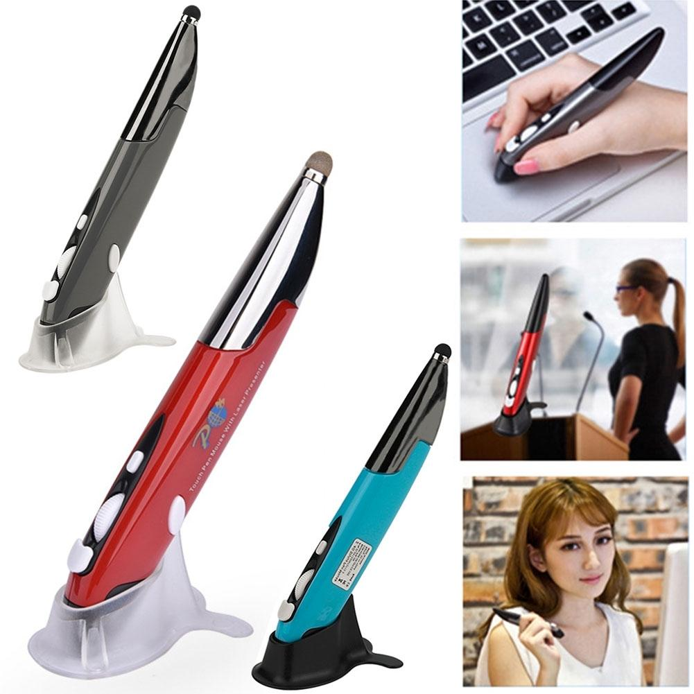 2.4GHz Wireless Optical Pen Mouse PC Laptop Android Stylus Presentation