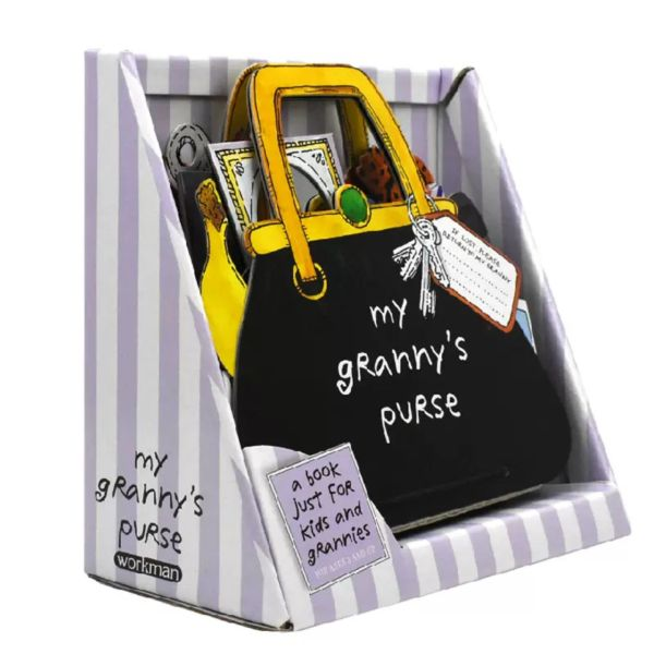 My Grannys Purse Interactive Board Book for Kids and Grannies