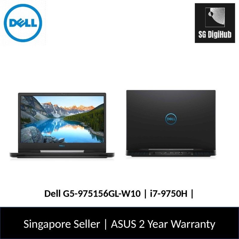 Dell G5-975156GL-W10 | i7-9750H | 16GB RAM | 512GB SSD | NVIDIA RTX2060 | 2Y Warranty