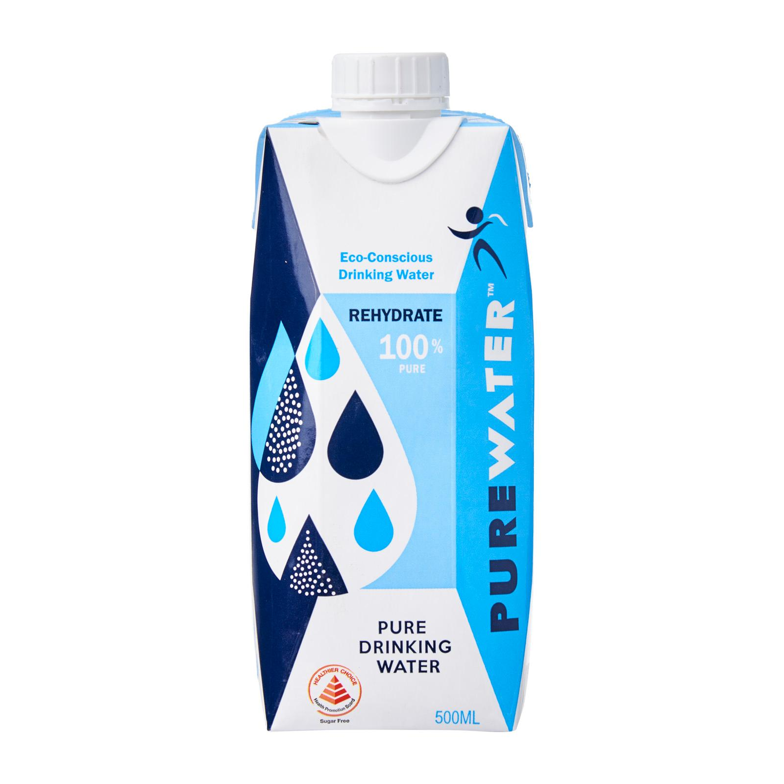 PURE WATER Packet Drinking Water 500ML